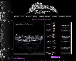 Screenshot of Aristocrat Tiaras [click to enlarge]