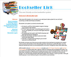 Screenshot of BooksellerLink [click to enlarge]