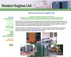 Screenshot of Kenton Hughes Ltd. [click to enlarge]