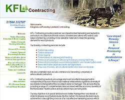 Screenshot of KFL Contracting [click to enlarge]