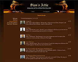 Screenshot of Sian's Attic [click to enlarge]