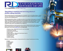 Screenshot of RD Engineering Services (NI) Ltd. [click to enlarge]