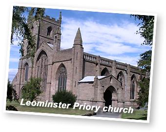 The Priory Church, Leominster, Herefordshire - Maweb has worked on websites for clients are based in Leominster!